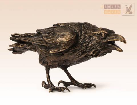 статуэтка Ворон чёрный
