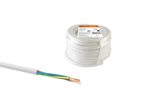 Провод ПВС 5х6 ГОСТ (30м), белый TDM