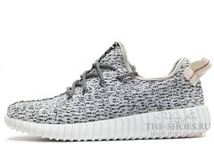 Кроссовки Женские Adidas Originals Yeezy 350 Boost Grey