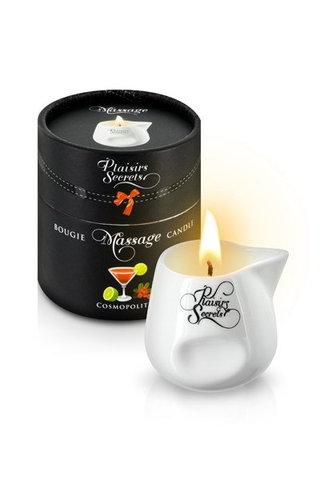 MASSAGE CANDLE COSMOPOLITAN Свеча с массажным маслом 80 мл
