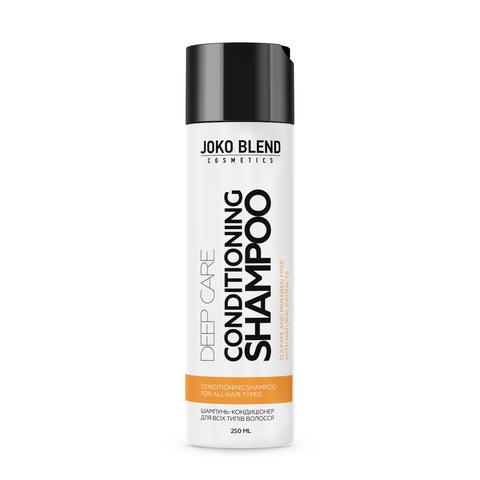 Беcсульфатный шампунь-кондиционер для всех типов волос Deep Care 250 мл