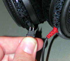 Коннектор для Sennheiser HD25, HD600, HD265