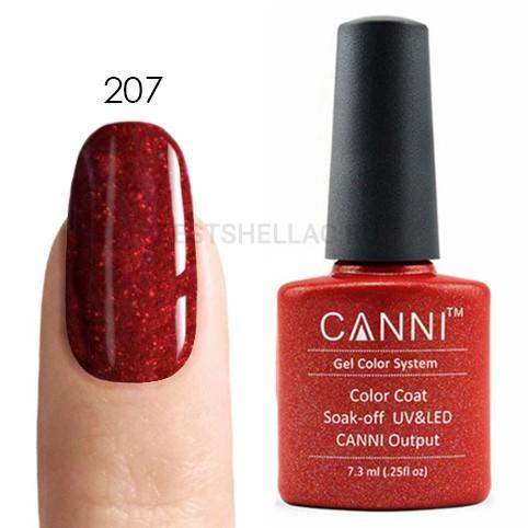 Canni Canni, Гель-лак 207, 7,3 мл 207.jpg