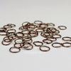 Комплект колечек одинарных 7х0,7 мм (цвет - античная медь), 20 гр (примерно 300 шт)