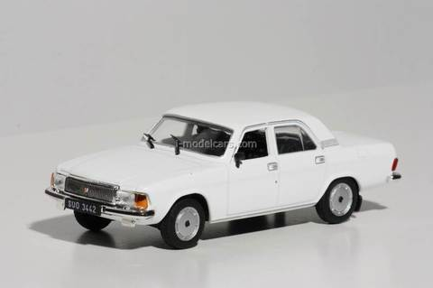 GAZ-3102 Volga white 1:43 DeAgostini Kultowe Auta PRL-u #93