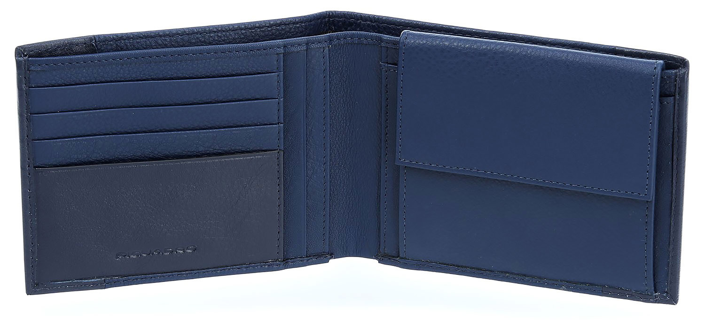 Кошелек Piquadro Pulse, цвет синий, 13x9,5x2 см (PU257P15/BLU3)