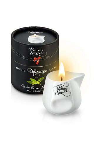 MASSAGE CANDLE DES YLANG/PATCHOULI Свеча с массажным маслом 80 мл