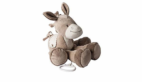 Мягкая музыкальная игрушка Nattou Soft Toy Mini Adele&Valentine