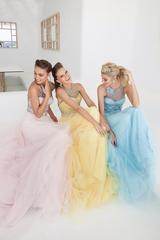 Пышное яркое платье от дизайнера Tarik Ediz 22355