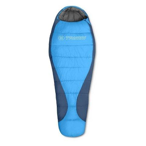 Зимний спальный мешок Trimm Trekking GANT, 185 R (синий)