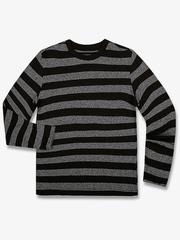 BTS011287 фуфайка детская, серый меланж