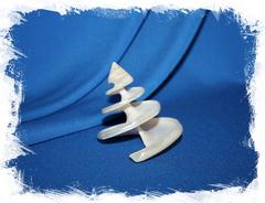 Спиральная перламутровая ракушка