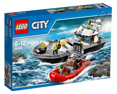 LEGO City: Полицейский патрульный катер 60129 — Police Patrol Boat — Лего Сити Город