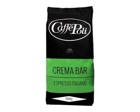 Кофе в зернах Poli Crema Bar, 1 кг (Каффе Поли)