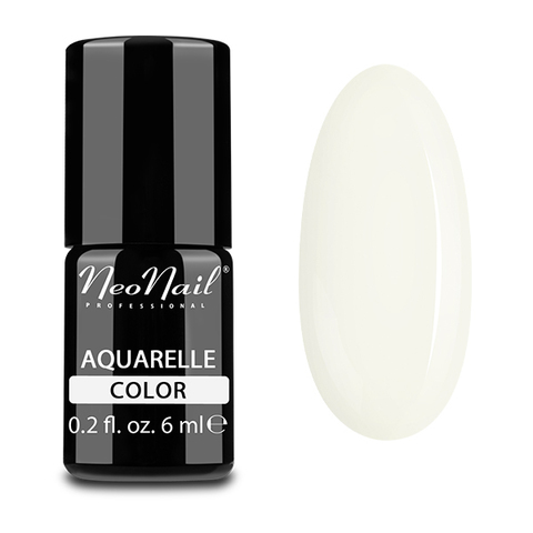 NeoNail Гель-лак акварельный UV 6ml White Aquarelle №5503-1