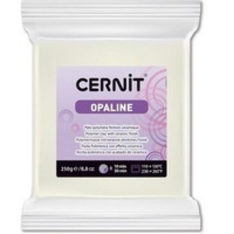 Полимерная глина CERNIT OPALINE 250г, белый 010