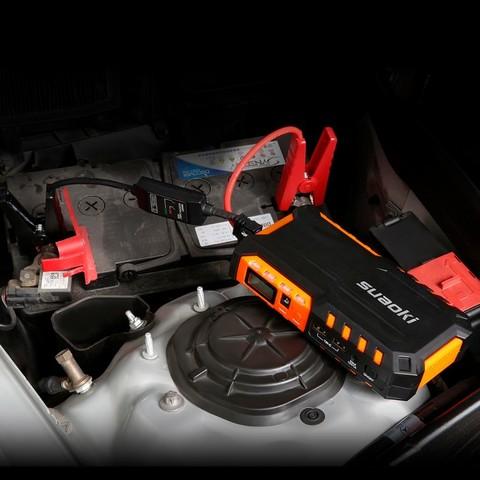 Беспроводной компрессор с пуском двигателя