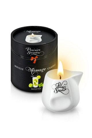MASSAGE CANDLE MOJITO 80 мл (аромат мохито)