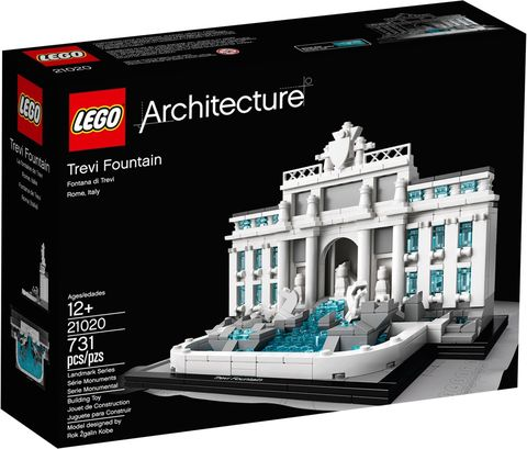 LEGO Architecture: Фонтан Треви 21020 — Trevi Fountain — Лего Архитектура