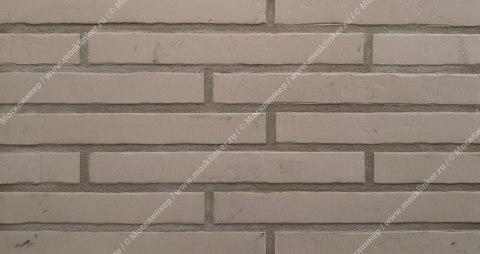 Stroeher, фасадная клинкерная плитка, цвет Glanzstueck №3, серия Glanzstueck, узкая, 440x52x14