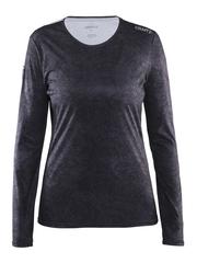 Женская профессиональная рубашка для бега Craft Mind Run черная