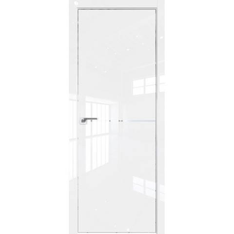 12LK белый люкс без стекла с алюминиевым молдингом