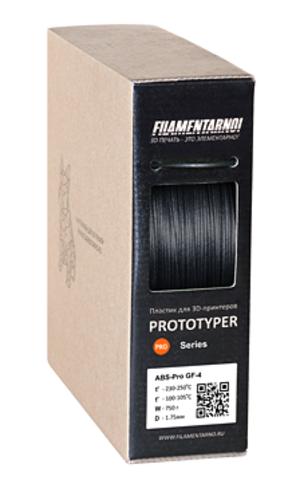 Пластик Filamentarno! TITAN GF-12. Цвет черный, 1.75 мм, 750 грамм