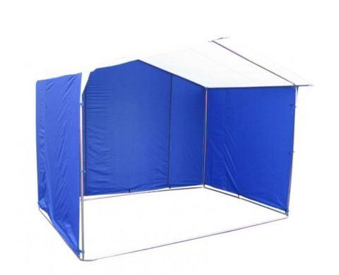 Торговая палатка Митек «Домик» 3 х 3 К из квадратной трубы 20х20 мм, тент ПВХ