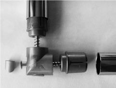 УС-2-СМ Угловое соединение,  серый металик