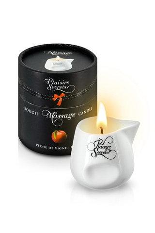 MASSAGE CANDLE PEACH 80 мл (аромат персика)