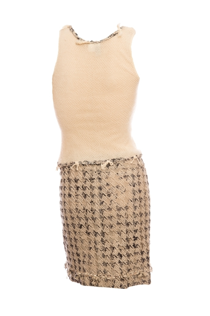 Изысканный костюм от Chanel, 36 размер.
