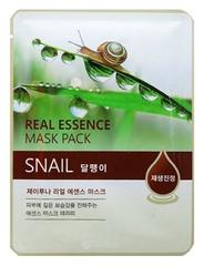 Тканевая маска с муцином улитки Juno Jluna Real Essence Mask Pack, Snail