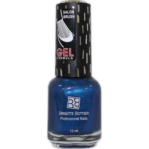 Brigitte Bottier Gel Formula Гелевый лак тон 47 сапфировый перламутр 12мл