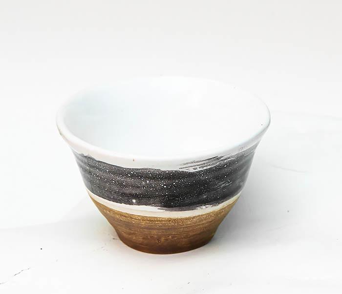 CUP101-3 Пиала ручной работы, керамика, серия «Млечный Путь» фото 02