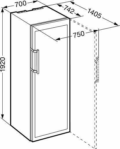 Винный шкаф Liebherr WTes 5972 Vinidor