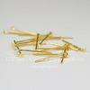 Комплект пинов - гвоздиков 18х0,8 мм (цвет - золото), 10 гр (примерно 100 шт)