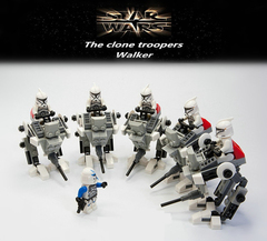 Minifigures Model Star Wars AT-PT Walker