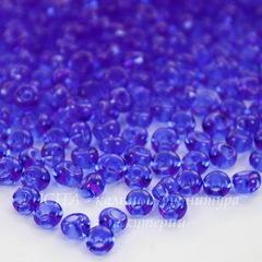 30050 Бисер Preciosa Дропс (Drops) 8/0 синий прозрачный