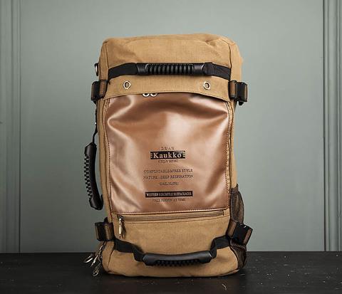 Рюкзак-трансформер из плотного текстиля