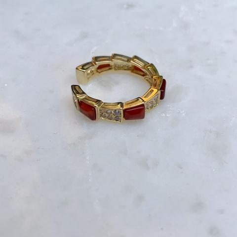 Кольцо Омана, красное
