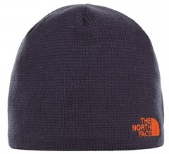 Шапка North Face Bones Beanie Urban Navy/Persian Orange