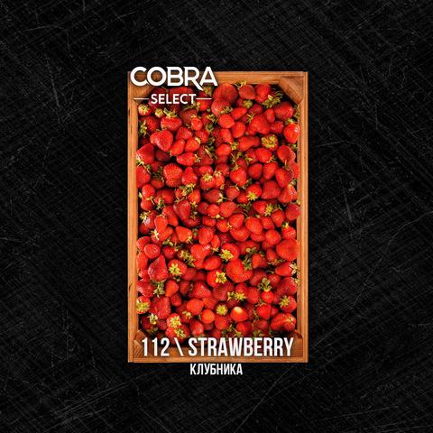 Табак Cobra SELECT Клубника (Strawberry) 40 г