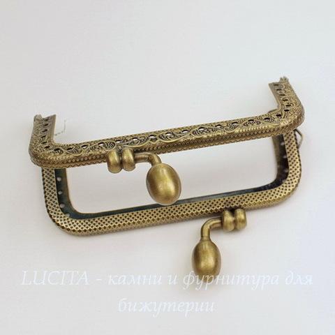 Фермуар 8,9х6,7 см (цвет - античная бронза)
