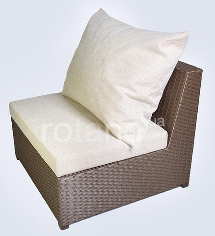 """Прямой элемент """"Ибица"""" с подушками"""