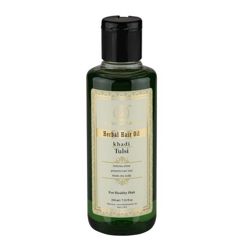 """""""Тулси"""" масло против выпадения и для роста волос Khadi Natural, 210 мл"""