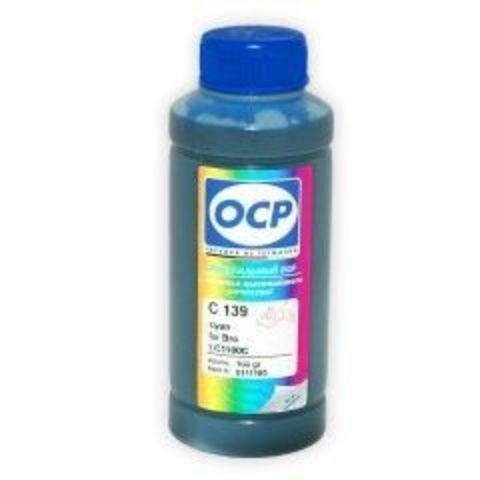 Чернила OCP С512 (Cyan) для Brother LC1000C, LC1100C, LC980C, LC970C, 100 мл