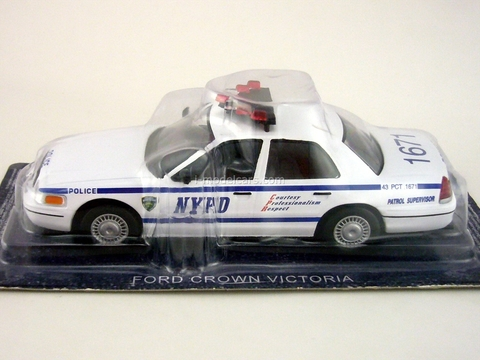 Ford Crown Victoria NYPD USA 1:43 DeAgostini World's Police Car #7
