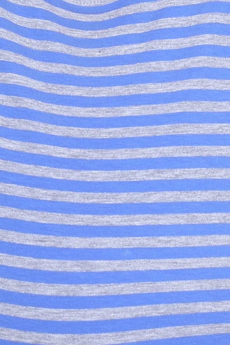 Футболка 09615 серо-голубой