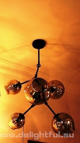 replica  BRANCHING BUBBLE CHANDELIER 5 by LINDSEY ADELMAN ( dark )