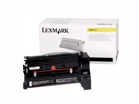 Картридж для принтеров Lexmark C750 желтый (yellow). Ресурс 15000 стр (10B042Y)